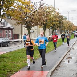 1. Tartu Linnamaraton / Sügisjooks - Pille Saluvere (240), Priit Melnik (463)