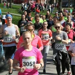 87. Suurjooks ümber Viljandi järve - Anna Riin Velner (2097), Kert Pallo (2648), Anu Kiivikas (3058)