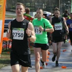 87. Suurjooks ümber Viljandi järve - Kaarel Kuusk (819), Robert Jürimaa (2750), Hanno Parksepp (3006)