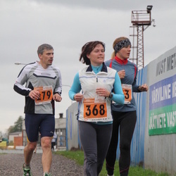 1. Tartu Linnamaraton / Sügisjooks - Jaanus Altoja (279), Annika Aas (368)
