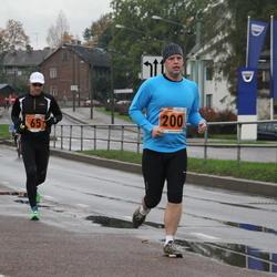 1. Tartu Linnamaraton / Sügisjooks - Leho Rennit (65), Agu Vilu (200)