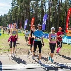 34. Tartu Jooksumaraton - Aarne Tiit (2690), Margit Tiit (2691), Helen Perli (9676)