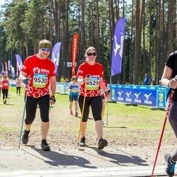 34. Tartu Jooksumaraton - Janeli Säärits (2677), Berit Kroon (9529), Hanno Kroon (9530)