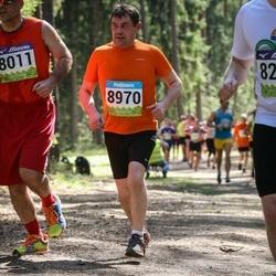 34. Tartu Jooksumaraton - Aare Allaje (8011), Ülo Võsonurm (8970)