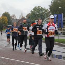 1. Tartu Linnamaraton / Sügisjooks - Marti Tutt (163), Kristjan Timmusk (170), Alar Lehesmets (286)