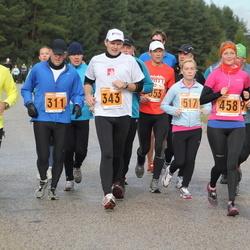 1. Tartu Linnamaraton / Sügisjooks - Ago Viner (311), Tauno Ojasaar (343), Triin Teder (458), Kaisa Kangro (517)