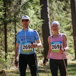 34. Tartu Jooksumaraton - Aarne Tiit (2690), Margit Tiit (2691)
