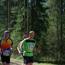 34. Tartu Jooksumaraton - Arnis Sulmeisters (328), Andrus Pedai (514)