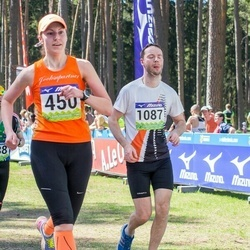 34. Tartu Jooksumaraton - Annika Mets (450), Teemar Hiir (1087)