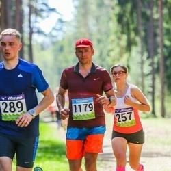 34. Tartu Jooksumaraton - Ailen Mälgi (257), Ando Arula (1179)