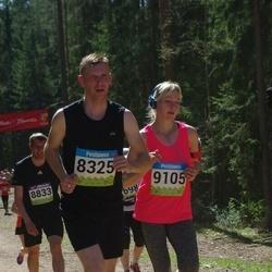 34. Tartu Jooksumaraton - Meelis Lemats (8325), Birgit Lausing (9105)