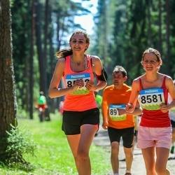 34. Tartu Jooksumaraton - Anna-Liisa Pehlak (8581), Anni-Mari Pehlak (8582)