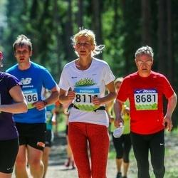 34. Tartu Jooksumaraton - Annely Illak (8111), Udo Reinsalu (8681)