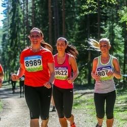 34. Tartu Jooksumaraton - Annika Feldmann (8074), Annika Puusta (8622), Lili Loid (8989)