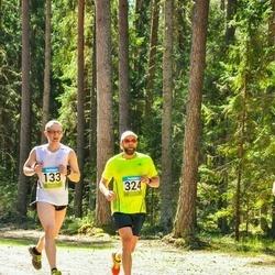 34. Tartu Jooksumaraton - Margus Maantoa (133), Aigar Ojaots (324)
