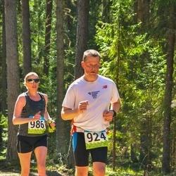 34. Tartu Jooksumaraton - Tõnis Elling (924), Annika Veimer (986)