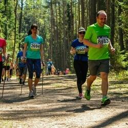 34. Tartu Jooksumaraton - Brett Hiielo (2524), Triin Toomeste (2694), Aivar Müürsepp (8483)