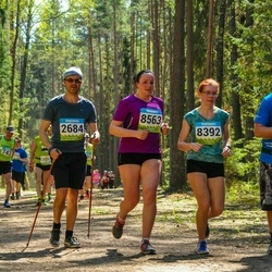 34. Tartu Jooksumaraton - Priit Tamm (2684), Aira Lõhmus (8392), Monika Pallon (8563), Bogdan Prokopjuk (9121)