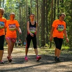 34. Tartu Jooksumaraton - Kadi Anajev (8016), Brigitta Mõttus (8467), Maichl Suur (8786), Reet Uibo (8891)