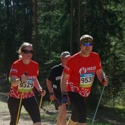 34. Tartu Jooksumaraton - Berit Kroon (9529), Hanno Kroon (9530)