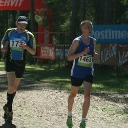 34. Tartu Jooksumaraton - Ahti Bleive (173), Risto Valdner (1463)
