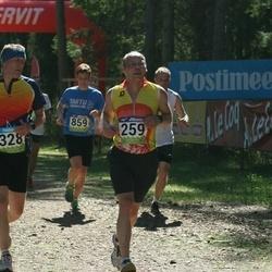 34. Tartu Jooksumaraton - Ando Viispert (259), Arnis Sulmeisters (328)