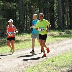 34. Tartu Jooksumaraton - Ago Saluveer (712), Piret Põldsaar (754)