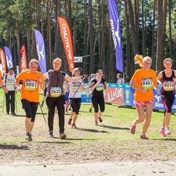 34. Tartu Jooksumaraton - Brigitta Mõttus (8467), Maichl Suur (8786), Reet Uibo (8891)