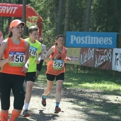 34. Tartu Jooksumaraton - Annika Mets (450), Anne Küttim-Rips (562)