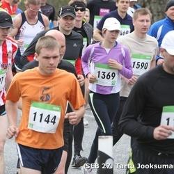 SEB 27. Tartu Jooksumaraton - Aivar Käesel (1120), Paul Krela (1144), Kaari Perm (1369), Martin Ansi (1590)