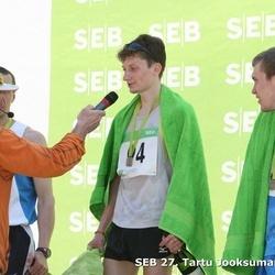 SEB 27. Tartu Jooksumaraton - Alxsey Markov (8), Yuri Vinogradov (94)