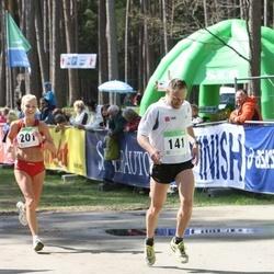 SEB 27. Tartu Jooksumaraton - Veiko Randaru (141), Anneli Vaher (201)