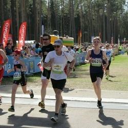 34. Tartu Jooksumaraton - Aare Allaje (8011), Birgit Liira (8625)