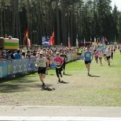 34. Tartu Jooksumaraton - Erkki Laaneoks (8299), Annika Labent (8303)