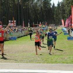 34. Tartu Jooksumaraton - Enor Heinmaa (8093), Annika Nõmme (8518), Kaisa Oras (8531)