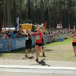 34. Tartu Jooksumaraton - Annika Nõmme (8518), Kaisa Oras (8531)