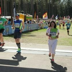 34. Tartu Jooksumaraton - Maarika Kelder (8207), Bogdan Prokopjuk (9121)