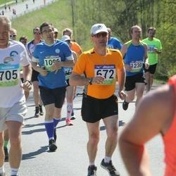 34. Tartu Jooksumaraton - Jaanus Uiga (672), Ain Inno (705)