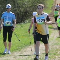 34. Tartu Jooksumaraton - Aarne Tiit (2690), Toomas Vabamäe (2700)