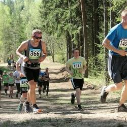 34. Tartu Jooksumaraton - Indrek Kuhi (366), Artur Jesse (1438), Mait Sarv (1513)