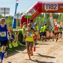 34. Tartu Jooksumaraton - Kaisa Kukk (60), Andres Juursalu (80)