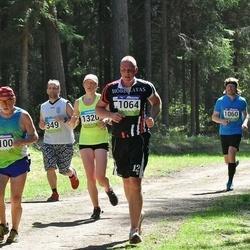 34. Tartu Jooksumaraton - Urmas Väärtnõu (349), Aare Sepp (1064), Boris Goncharov (1100), Maili Vilson (1320)