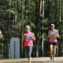 34. Tartu Jooksumaraton - Kadri Jukk (8140), Birgit Lausing (9105)