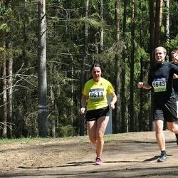 34. Tartu Jooksumaraton - Külli Puhke (8611), Birgit Liira (8625), Henry Raag (8643)