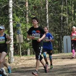 34. Tartu Jooksumaraton - Annika Jukk (8139), Mari-Liis Luukas (8391), Karl-Andreas Meus (8446), Rena Toming (8855)