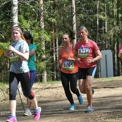 34. Tartu Jooksumaraton - Brett Hiielo (2524), Margit Turb (8234), Katrin Sisa (8765), Lisbeth Vallimäe (8922)