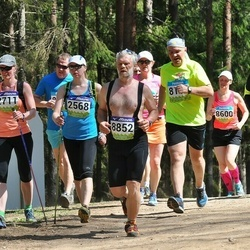 34. Tartu Jooksumaraton - Triin Kukk (2568), Aare Tinn (8852)