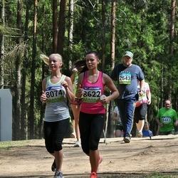 34. Tartu Jooksumaraton - Annika Feldmann (8074), Annika Puusta (8622)