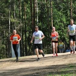34. Tartu Jooksumaraton - Andre Hallaste (8083), Hannes Rootsi (8704), Getter Linde (9129), Marta Vals (9190)