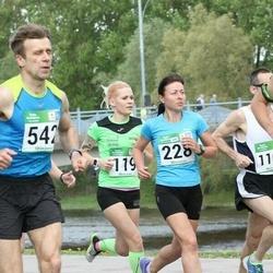 Tartu Kevadjooks - Kadiliis Kuiv (119), Jana Roosimägi (228), Maigo Matsalu (542)